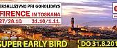 SUPER EARLY BIRD FIRENCE TOSKANA Z GOHOLIDAYS OKTOBERSKE POČITNICE#slika1