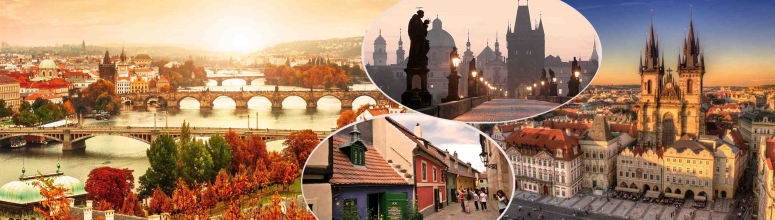 City breaks tours trips Europe goholidays Prague